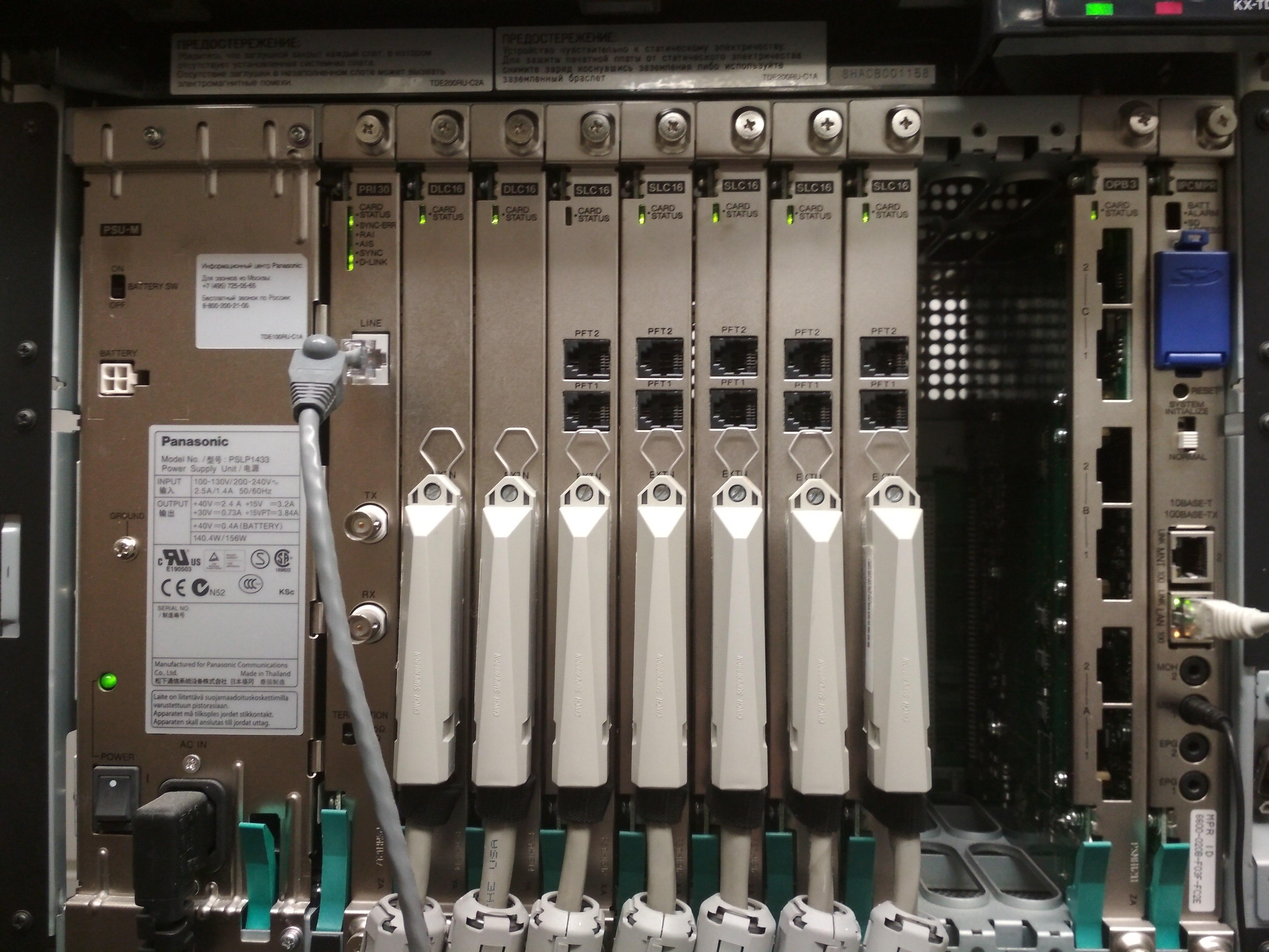 АТС Panasonic TDE200