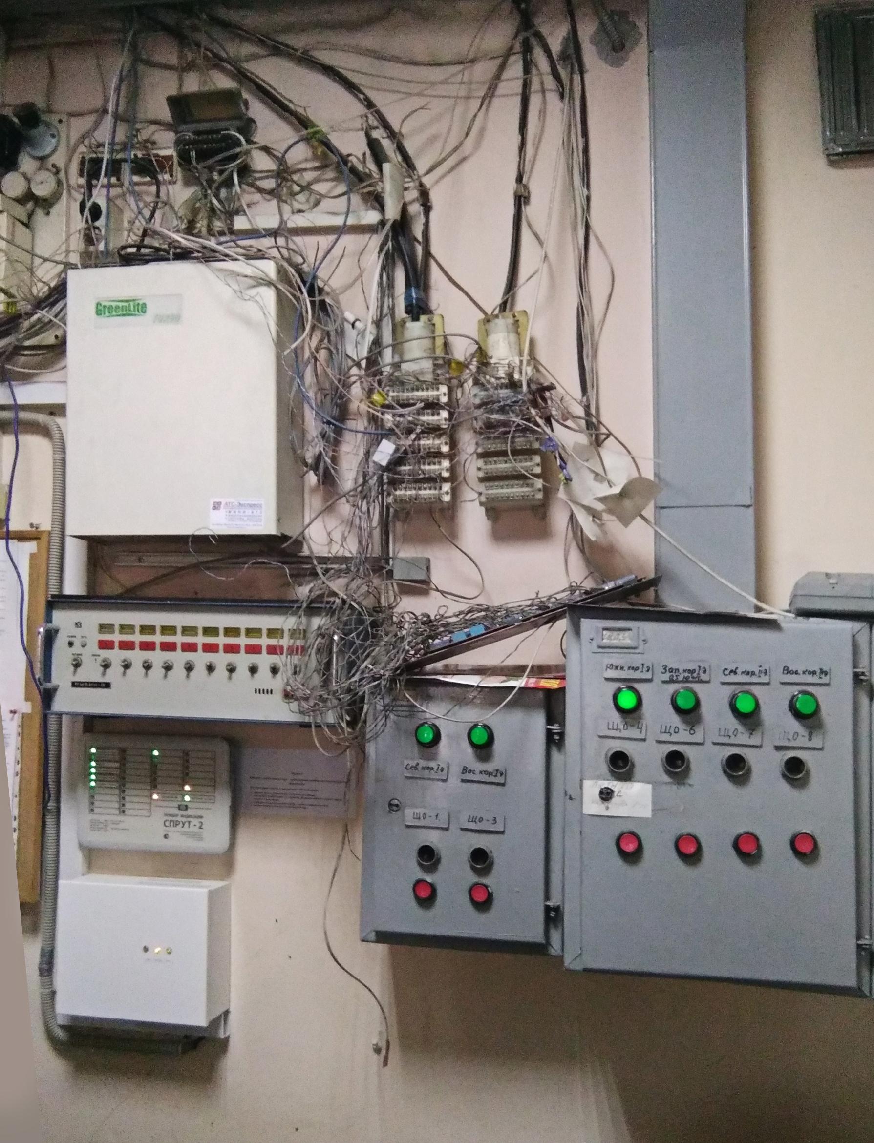 Узел связи домодернизации телефонной сети