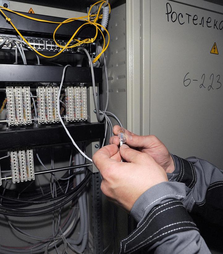 Обслуживание телефонной сети, подключение дополнительных телефонов