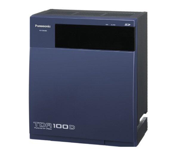 Цифровая гибридная АТС Panasonic KX-TDA100DRU