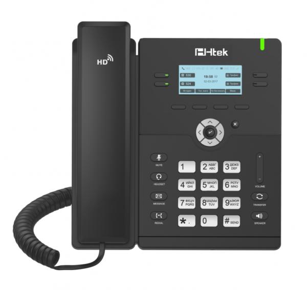IP-телефон Htek UC912E с Bluetooth и WiFi