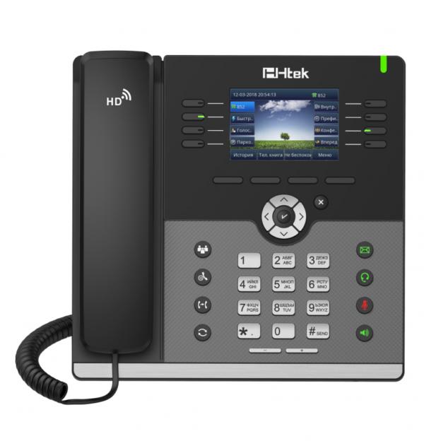 IP-телефон Htek UC924E с Bluetooth и WiFi