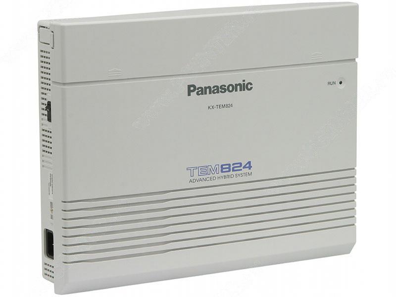 Купить АТС Panasonic KX-TEM824RU