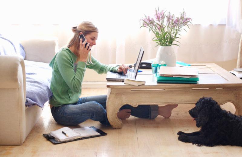 IP Телефония для работы из дома