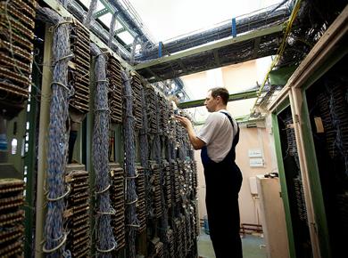 Монтаж телефонной сети